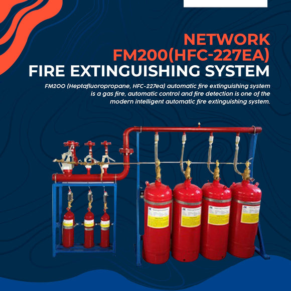 Network Fire Extinguishing System FM200(HFC-227ea)