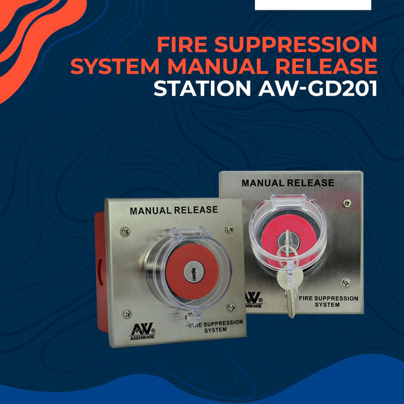 Fire Suppression System Manual Release Station AW-GD201