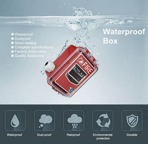 Waterproof Transparent Cover Plastic Enclosure Electrical Junction Box