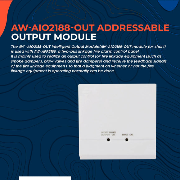 Addressable Output Module AW-AIO2188-OUT