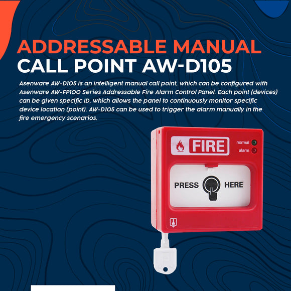 Addressable Manual Call Point AW-D105