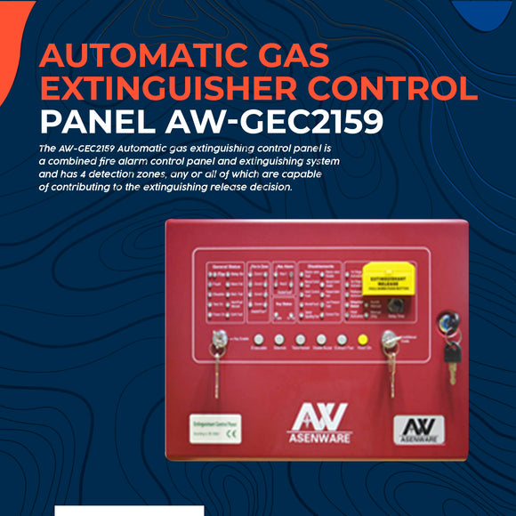 Automatic Gas Extinguisher Control Panel AW-GEC2159
