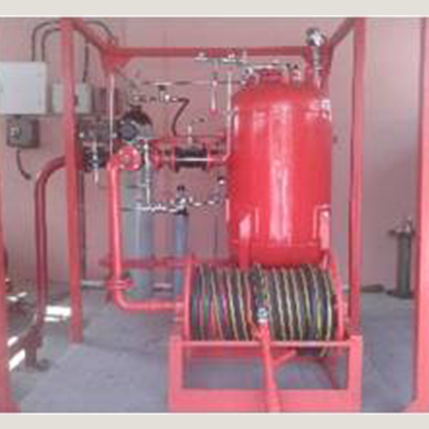 Dry Chemical Powder Skid