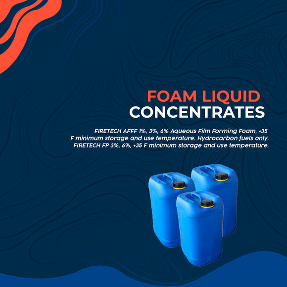 Foam Liquid Concentrates
