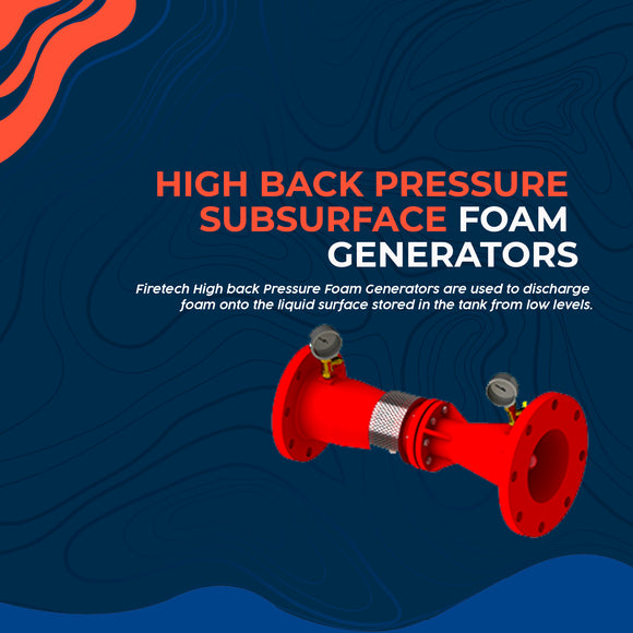 High back Pressure Subsurface Foam Generators