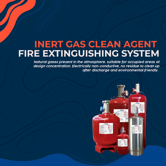 2.3 Inert Gas Clean Agent Fire Extinguishing System