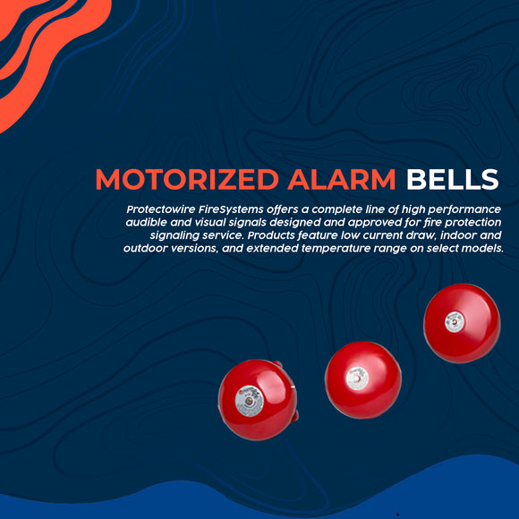 Motorized Alarm Bells