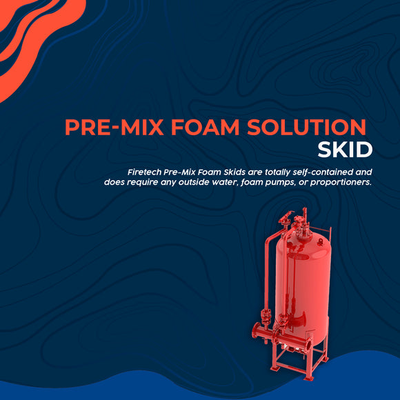Pre-Mix Foam Solution Skid