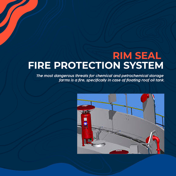 Rim Seal Fire Protection System