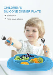 Mini Portable Baby Suction Plate