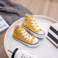 Spring Autumn High Top Sneakers