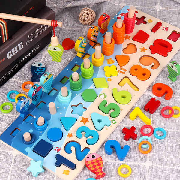 3D Preschool children educational toys