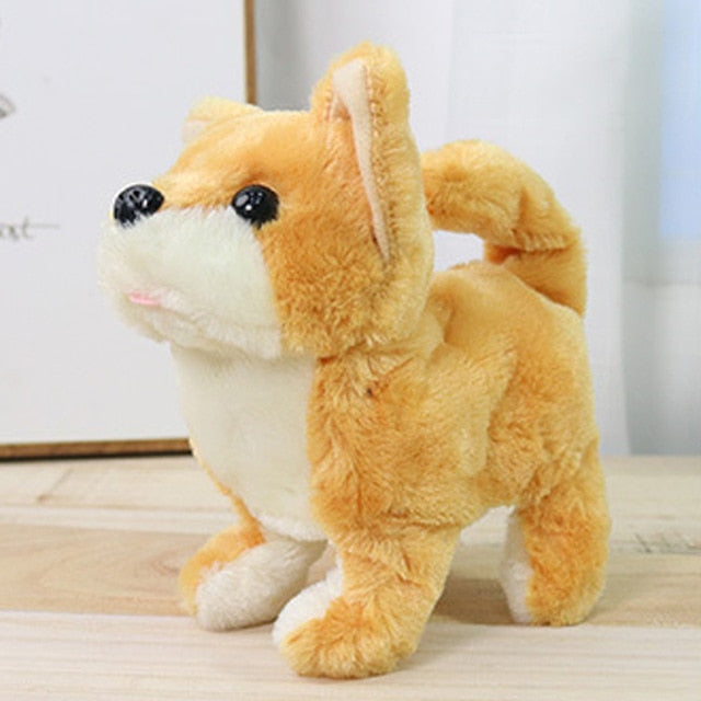 Cute Robot Dog Funny Plush Toys