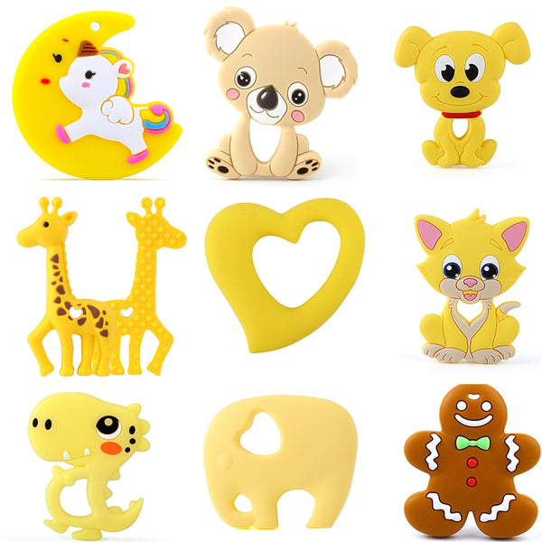 Keep&Grow 1pcs Baby Animal Silicone