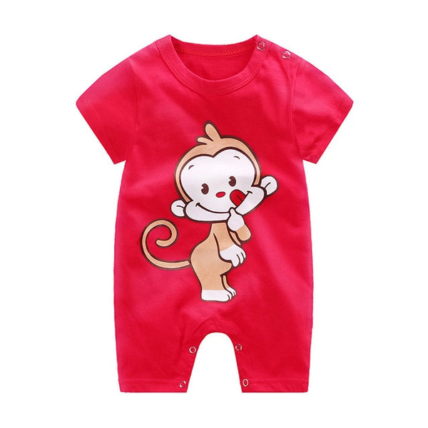 baby clothes 100% cotton short sleeve