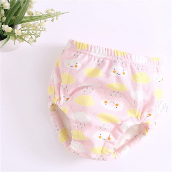 New 6Layers Crotch Baby Diapers