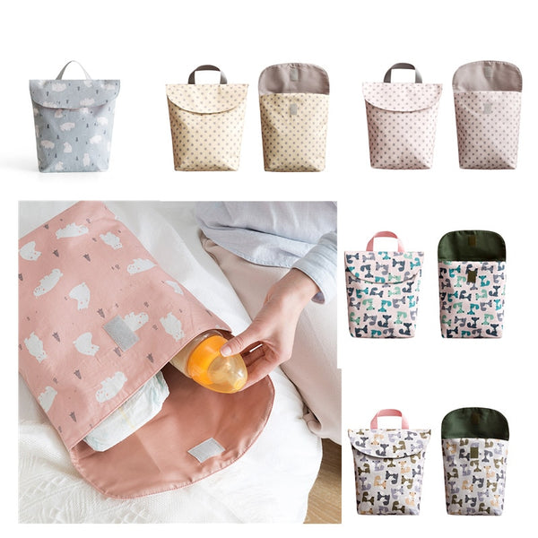 Maternity Bag Waterproof Wet Cloth Diaper