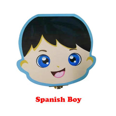 Wooden Baby Tooth Box English /Spanish /Portuguese
