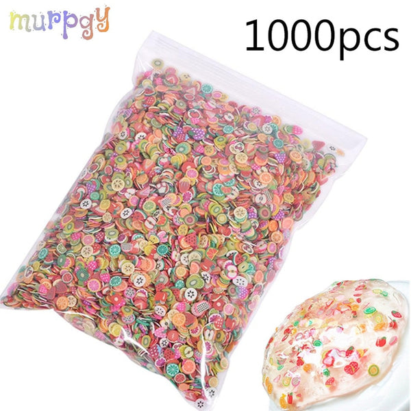 1000pcs Fruit Slices Addition For Nail Art