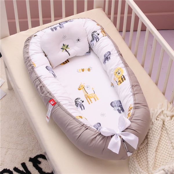 Babynest Newborn Baby Nest Bed Portable