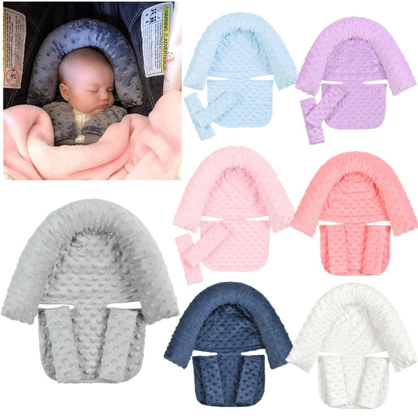 Baby Car Safety Soft Sleeping Head Support Pillow