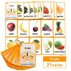 Children Baby English Learning Word Card