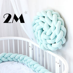 Bed Braid Knot Pillow Cushion