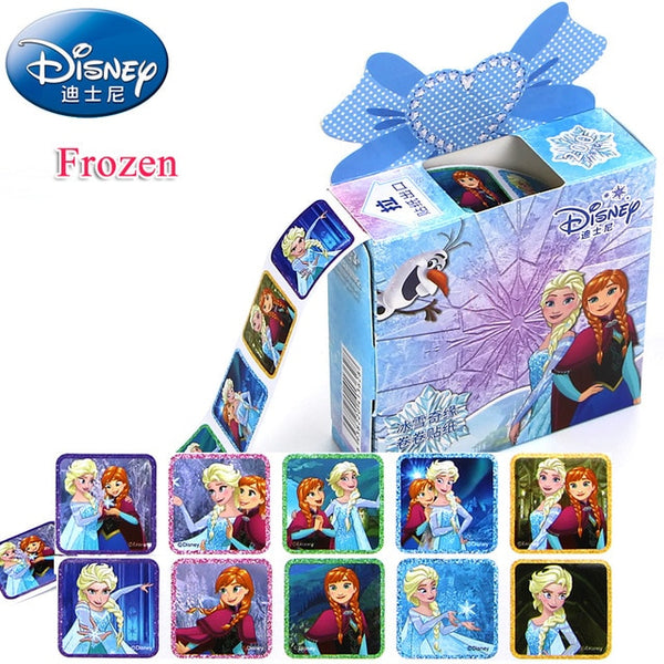 200 Sheets In a Box Disney Cartoon Stickers