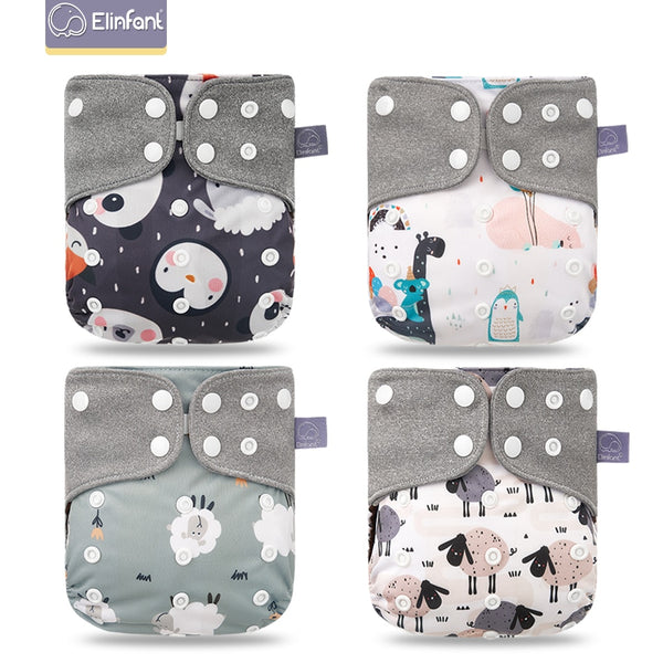 Adjustable & Reusable Pocket Diapers