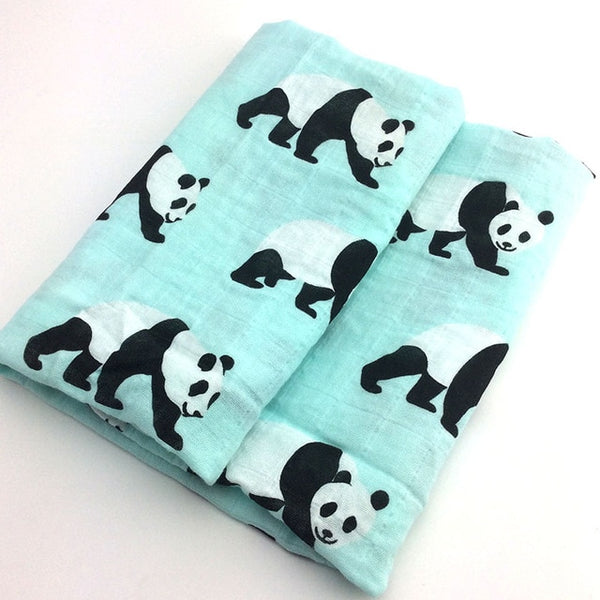 Baby Blankets Newborn Soft Cotton