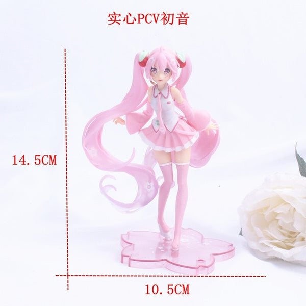 Anime Pink Sakura Action Figures