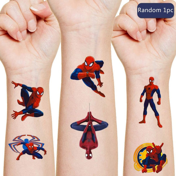 Spiderman Disney original Tattoo