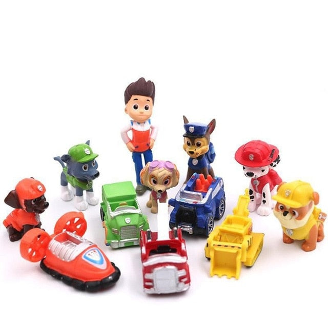 Captain and Dog Model Gift Toys for Children