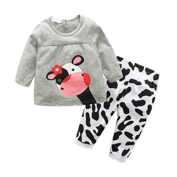 Outfit Cotton Baby Tracksuit Set