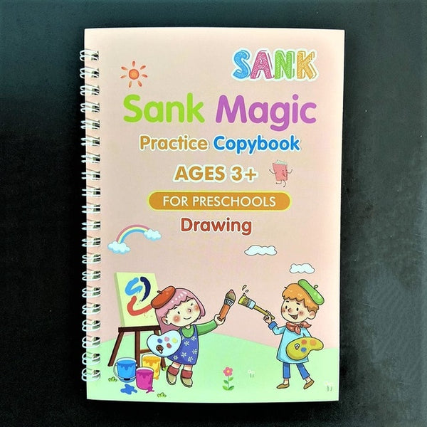 Magic Practice Copybook- SET OF 4