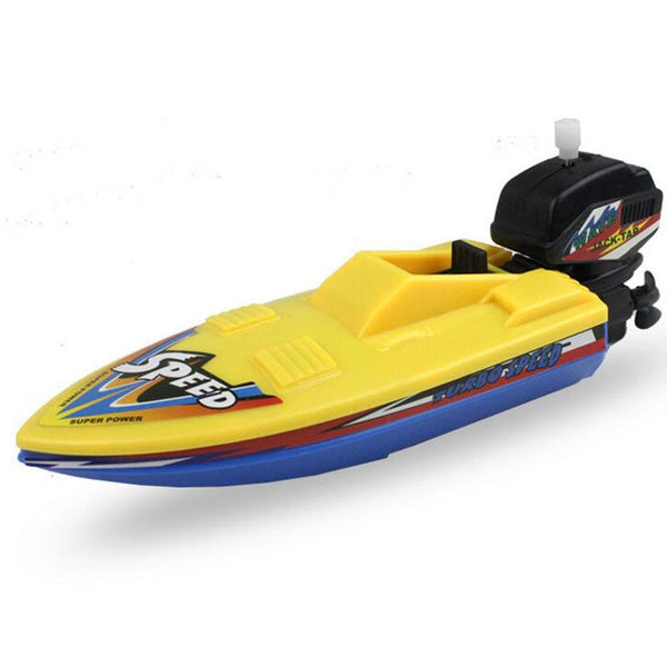 Speed Boat Ship Wind Up Toy