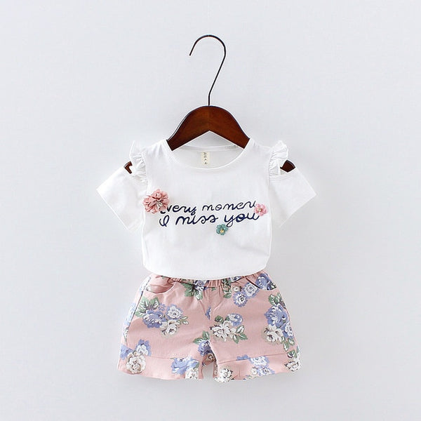 Summer Vest Sleeveless Children Sets