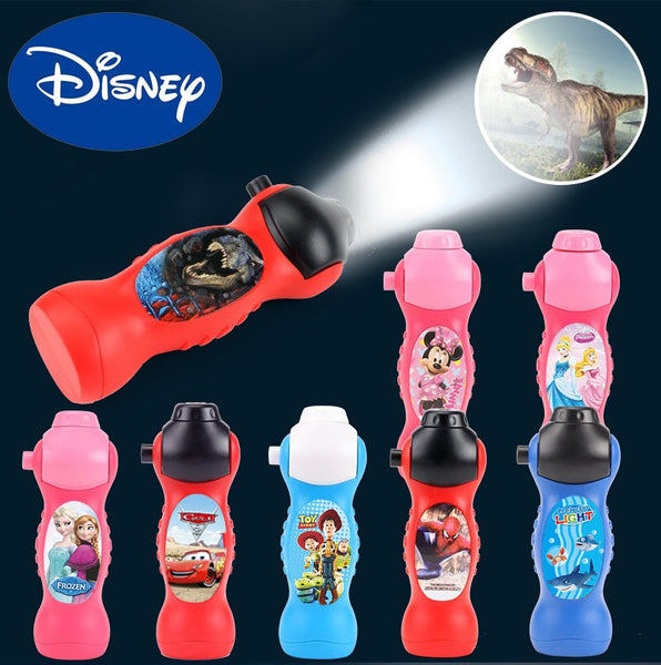Disney Cartoon Projection Flashlight Mickey Mouse Cars