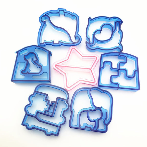 Funky Sandwich Cut-Outs Set 9 pcs