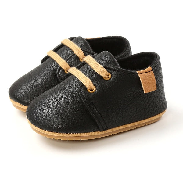 New Baby Shoes Retro Leather
