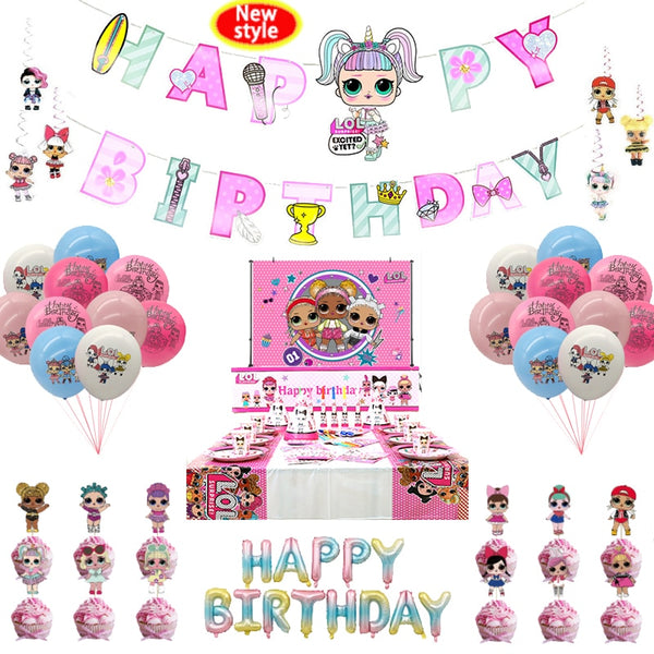 Birthday Party Decoration Kid Girl Party