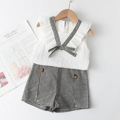 Summer New Style Brand  Baby Girls Clothes