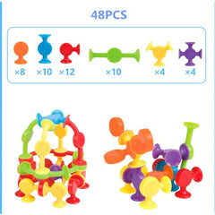 16-48pcs/set Pop Little Suckers Assembled