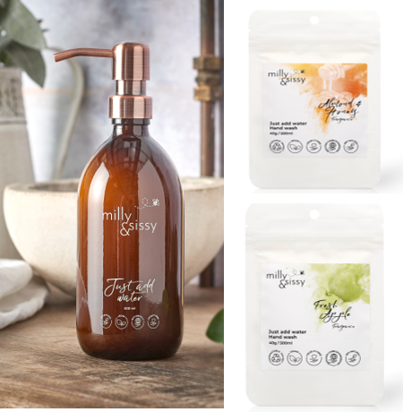 Zero Waste Hand Wash Duo, Option B