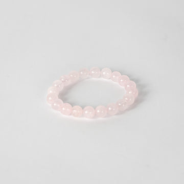 10mm Bracelet-Rose Quartz