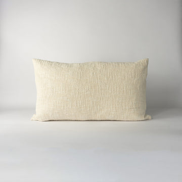 Ecru Lumbar Pillow