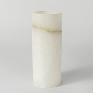 Alabaster Vase-Tall & Slim