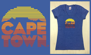 Cape Town Sunset Ladies T-shirt