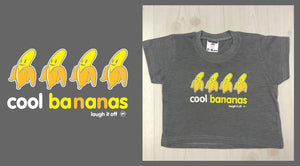 Cool Bananas Kids T-shirt