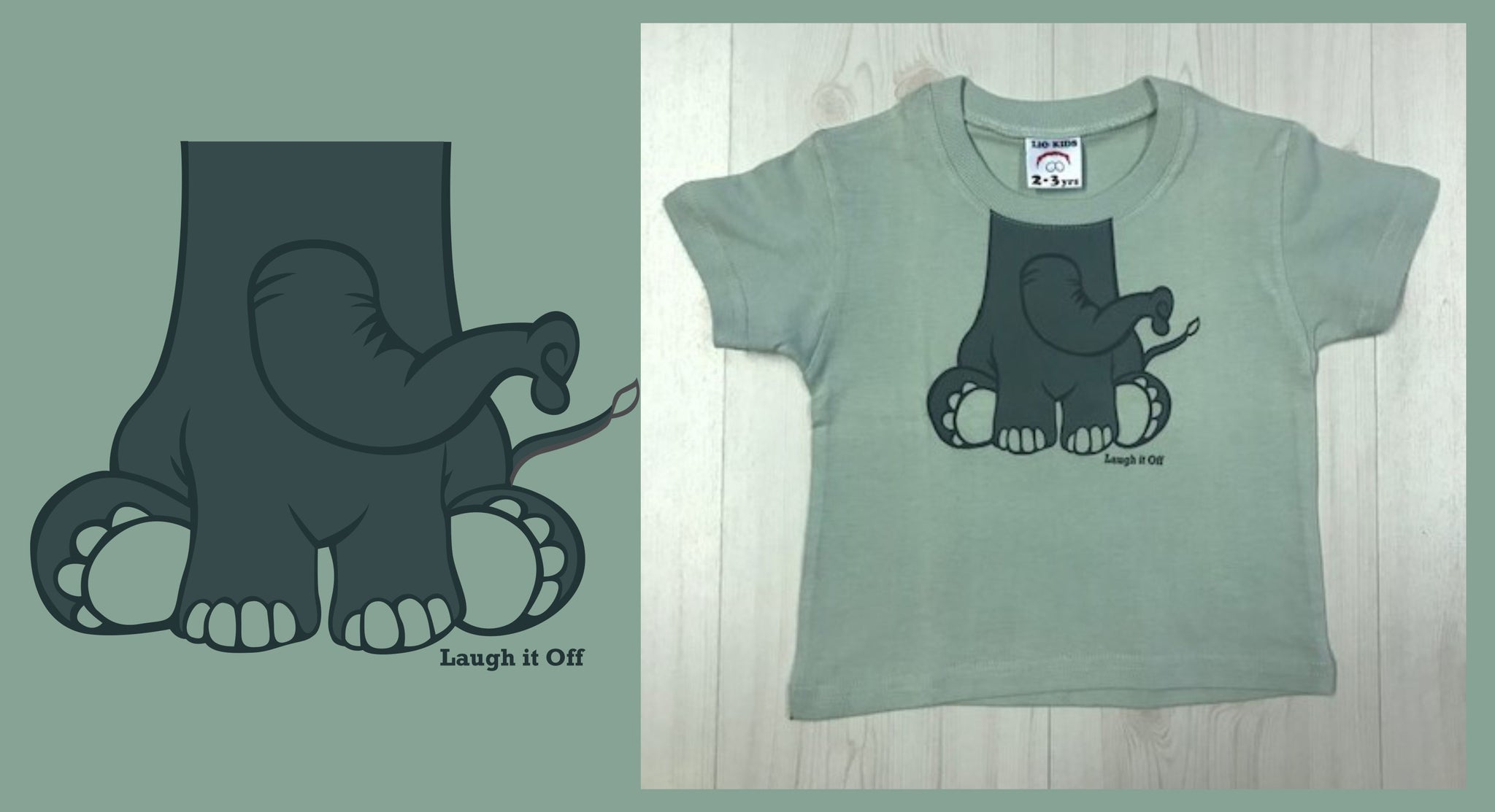 Elly Neck Kids T-shirt